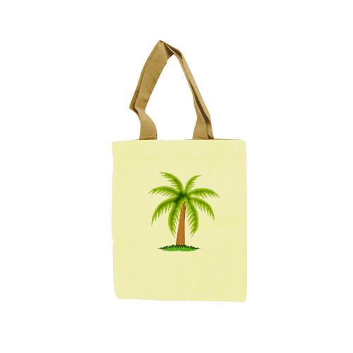 Tote Bag Art Coconut Tree